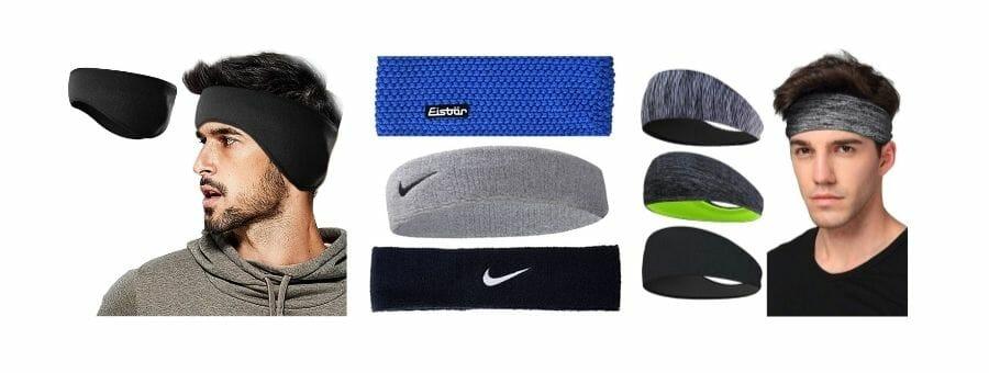 Stirnbänder für Herren