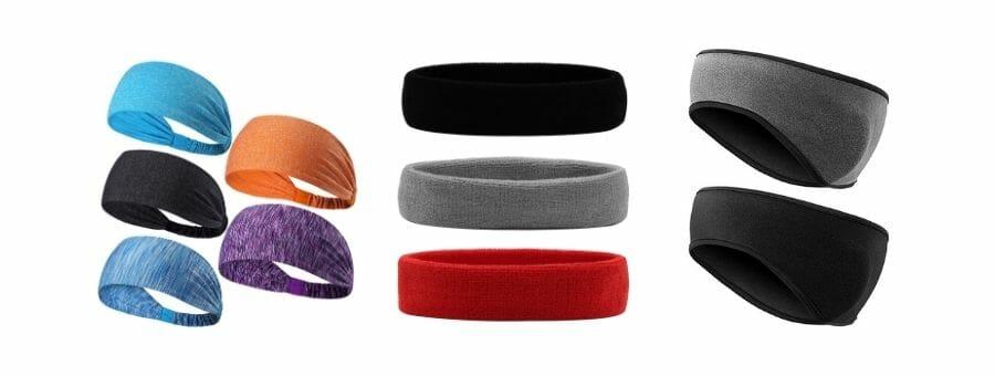 Stirnbänder für Sport
